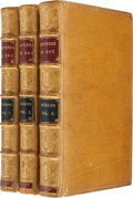 """Books:Literature Pre-1900, Charles Dickens. Sketches by """"Boz,"""" Illustrative of Every-Day Life, and Every-Day People. In Two Volumes. Illust... (Total: 3 Items)"""