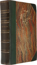 Books:Literature Pre-1900, Charles Dickens. Martin Chuzzlewit. London: Chapman andHall, 1844. First edition, second issue, with corrected ...