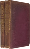 Books:Literature Pre-1900, Charles Dickens. Our Mutual Friend. London: Chapman andHall, 1865. First edition in book form, bound from the origi...(Total: 2 Items)