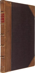 Books:Literature Pre-1900, Charles Dickens. The Mystery of Edwin Drood. London: Chapmanand Hall, 1870. First edition, bound from the origi...