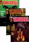 Magazines:Horror, Vampirella Group (Warren, 1975-77).... (Total: 7 Comic Books)