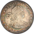 Early Half Dimes, 1796 H10C LIKERTY XF40 PCGS. V-1, LM-1, R.3....