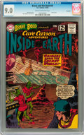 Silver Age (1956-1969):Adventure, The Brave and the Bold #41 Cave Carson - Savannah pedigree (DC, 1962) CGC VF/NM 9.0 Cream to off-white pages. ...