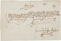 Autographs:Non-American, King Ferdinand V and Queen Isabella I of Spain Letter Signed...