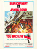 """Movie Posters:James Bond, You Only Live Twice (United Artists, 1967). Poster (30"""" X 40"""").. ..."""