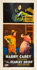 "Movie Posters:Western, The Scarlet Drop (Universal, 1918). Three Sheet (41"" X 81"").. ..."