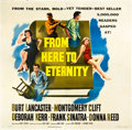 "Movie Posters:Academy Award Winners, From Here to Eternity (Columbia, 1953). Six Sheet (81"" X 81"").. ..."