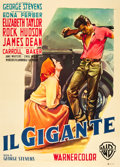 "Movie Posters:Drama, Giant (Warner Brothers, 1956). Italian 2 - Foglio (39"" X 55"").. ..."
