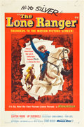 "Movie Posters:Western, The Lone Ranger Lot (Warner Brothers, 1956). One Sheets (2) (27"" X41"").. ... (Total: 2 Items)"