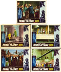 "Movie Posters:Science Fiction, Things to Come (Film Classics, R-1947). Lobby Cards (5) (11"" X14"").. ... (Total: 5 Items)"