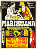 "Movie Posters:Exploitation, Marihuana (Roadshow Attractions, 1936). One Sheet (27.5"" X36.25"").. ..."