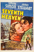 "Movie Posters:Romance, Seventh Heaven (20th Century Fox, 1937). One Sheet (27"" X 41"")....."