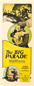 "Movie Posters:War, The Big Parade (MGM, 1925). Insert (14"" X 36"").. ..."