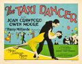 "Movie Posters:Drama, The Taxi Dancer (MGM, 1927). Title Lobby Card (11"" X 14"").. ..."