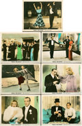 """Movie Posters:Musical, Shall We Dance (RKO, 1937). Deluxe Color-Glos Lobby Cards (7) (11""""X 14"""").. ... (Total: 7 Items)"""