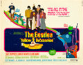 "Movie Posters:Animated, Yellow Submarine (United Artists, 1968). Half Sheet (22"" X 28"")....."