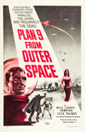 """Movie Posters:Science Fiction, Plan 9 from Outer Space (DCA, 1958). One Sheet (27"""" X 41.5"""").. ..."""