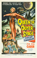 "Movie Posters:Science Fiction, Queen of Outer Space (Allied Artists, 1958). One Sheet (27"" X 41"").Science Fiction.. ..."
