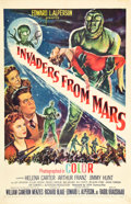 "Movie Posters:Science Fiction, Invaders from Mars (20th Century Fox, 1953). One Sheet (27"" X 41.5"").. ..."