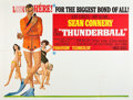 "Movie Posters:James Bond, Thunderball (United Artists, 1965). Subway (41"" X 54"").. ..."