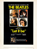 """Movie Posters:Rock and Roll, Let It Be (United Artists, 1970). Poster (30"""" X 40"""").. ..."""