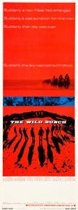 """Movie Posters:Western, The Wild Bunch (Warner Brothers, 1969). Insert (14"""" X 36"""").. ..."""