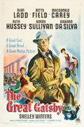 """Movie Posters:Drama, The Great Gatsby (Paramount, 1949). One Sheet (27"""" X 41"""").. ..."""
