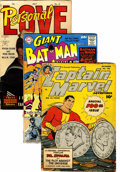 Golden Age (1938-1955):Miscellaneous, Comic Books Various Publishers Group (Various, 1940s-60s) Condition: Average FR.... (Total: 84 Comic Books)