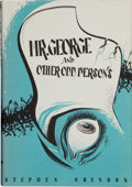 Books:Horror & Supernatural, Stephen Grendon. Mr. George and Other Odd Persons. SaukCity: Arkham House, 1963. First edition, one of 2500 copies....