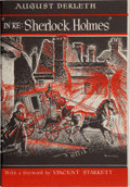 """Books:Horror & Supernatural, August Derleth. """"In Re: Sherlock Holmes"""": The Adventures ofSolar Pons. Sauk City: Mycroft and Moran, 1945. Firs..."""