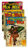 Golden Age (1938-1955):War, All-American Men of War Group (DC, 1955-57).... (Total: 10 ComicBooks)