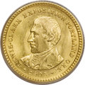 "Commemorative Gold: , 1905 G$1 Lewis and Clark MS64 ANACS. David Bowers (1991) writes ofthe Lewis and Clark gold dollars that: ""Typical grades r..."