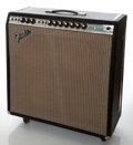 Musical Instruments:Amplifiers, PA, & Effects, 1975 Fender Super Reverb Guitar Amplifier, Serial # A75346....