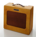 Musical Instruments:Amplifiers, PA, & Effects, Late-1940s Fender Deluxe Tweed Guitar Amplifier, Serial # 3740. ...