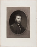 Books:Prints & Leaves, W. E. Marshall, painter and engraver. Portrait of General U. S.Grant. Large engraved portrait. New York: [n.d., ca. 1870]. ...