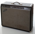 Musical Instruments:Amplifiers, PA, & Effects, 1965 Fender Twin Reverb Black Face Re-Issue Guitar Amplifier,Serial # AC029648....