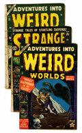 Golden Age (1938-1955):Science Fiction, Strange Tales/Adventures Into Weird Worlds Group (Various,1952-53).... (Total: 3 Comic Books)