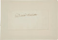 Autographs:Statesmen, Daniel Webster Signature . ...