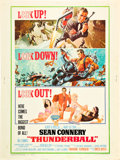 """Movie Posters:James Bond, Thunderball (United Artists, 1965). Poster (30"""" X 40"""").. ..."""