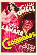 "Movie Posters:Mystery, Crossroads (MGM, 1942). One Sheet (27"" X 41""). Style D.. ..."