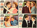 "Movie Posters:Comedy, One Hour with You (Paramount, 1932). Lobby Cards (4) (11"" X 14"")..... (Total: 4 Items)"