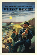 """Movie Posters:Comedy, Whiskey Galore (Ealing, 1949). British One Sheet (27"""" X 40"""").. ..."""