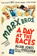 "Movie Posters:Comedy, A Day At The Races (MGM, 1937). One Sheet (27"" X 41""). Style D....."