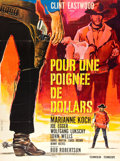 "Movie Posters:Western, A Fistful of Dollars (United Artists, 1967). French Grande (45"" X 61"").. ..."