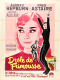 """Movie Posters:Romance, Funny Face (Paramount, 1957). French Grande (47"""" X 63"""").. ..."""