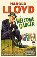"Movie Posters:Comedy, Welcome Danger (Paramount, 1929). One Sheet (27"" X 41"").. ..."