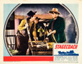 "Movie Posters:Western, Stagecoach (United Artists, 1939). Lobby Cards (2) (11"" X 14"")..... (Total: 2 Items)"