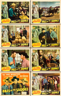 "Pals of the Saddle (Republic, 1938). Lobby Card Set of 8 (11"" X 14""). ... (Total: 8 Items)"