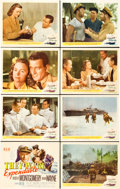 "Movie Posters:War, They Were Expendable (MGM, 1945). Lobby Card Set of 8 (11"" X 14"")..... (Total: 8 Items)"