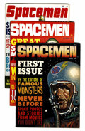 Magazines:Science-Fiction, Spacemen Group (Warren, 1961-65) Condition: Average VG/FN....(Total: 7 Comic Books)